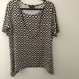 AGB DESIGN PATTERN WITH NECKLACE TOP